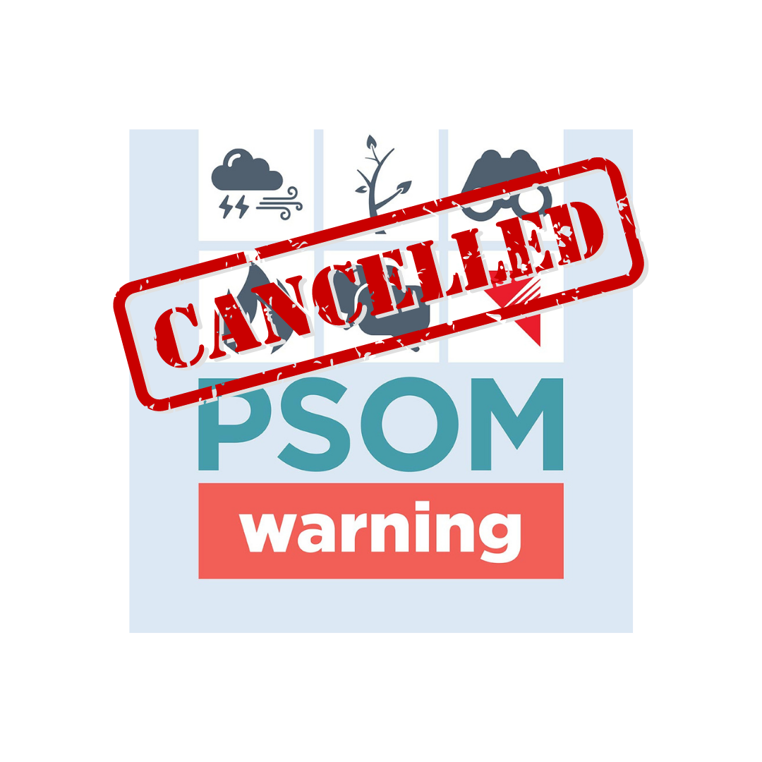 NV ENERGY PSOM CANCELLED