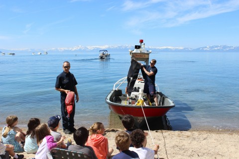 Summer Water Safety at Lake Tahoe