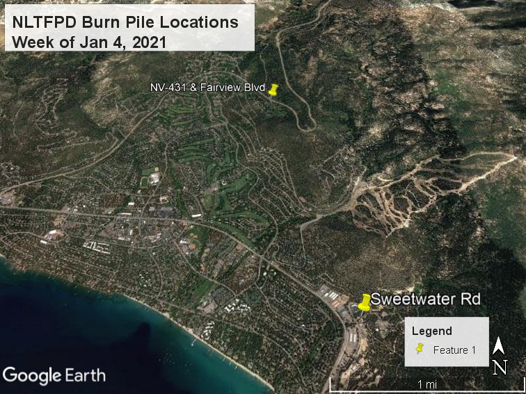 NLTFPD Burn Pile Locations Week of Jan 4 2021